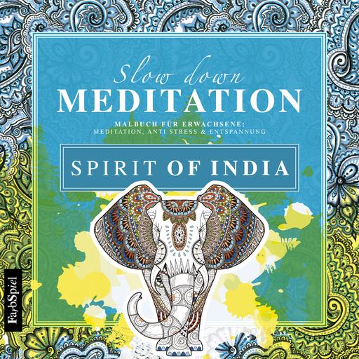 Lisa Wirth - Malbuch - Spirit of India