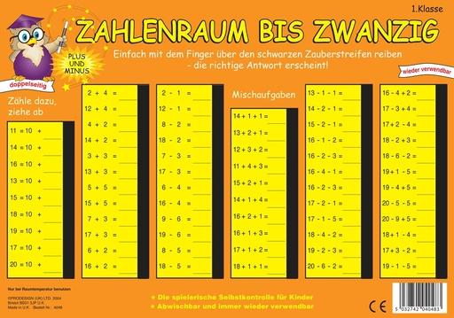 Stubenrauch, Bernhard - PRESSOGRAM Zaubertafel - Zahlenreihe bis