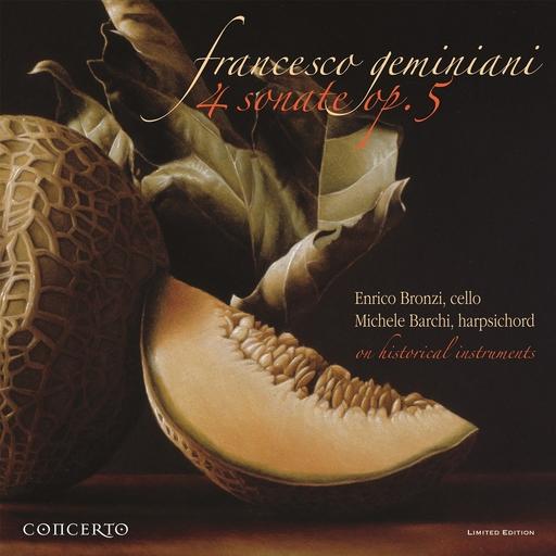 FRANCESCO GREMINIANI - 4 Sonate for cello and basso continuo op