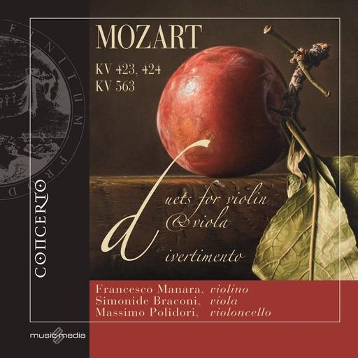 Francesco Manara,Simonide Braconi,Massim - W. A. Mozart - Duets for violin & viola