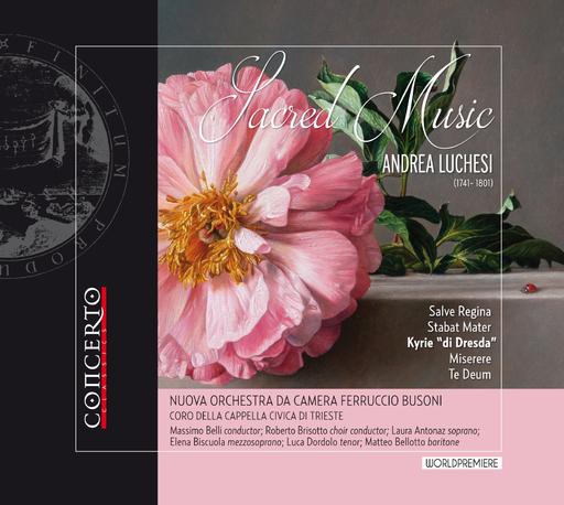 Nuova Orchestra da Camera Ferruccio Buso - Sacred Music - Andrea Luchesi (1741 - 18