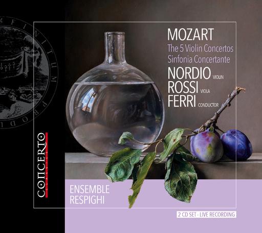 ENSEMBLE RESPIGHI ORCHESTRA, FEDERICO FE - MOZART - THE 5 VIOLIN CONCERTOS - SINFON