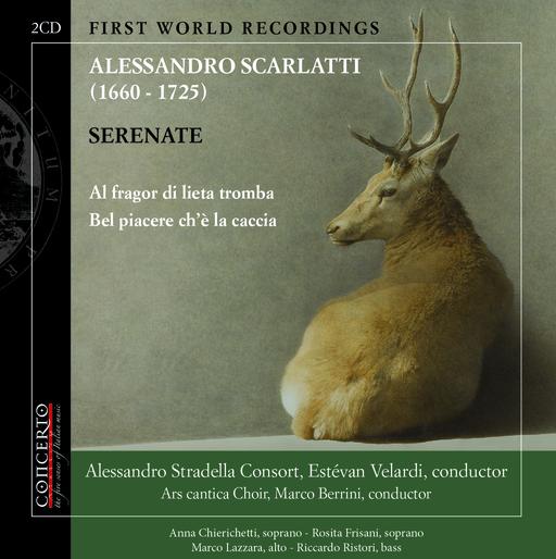 Alessandro Stradella Consort, Estévan Ve - Alessandro Scarlatti – Serenate