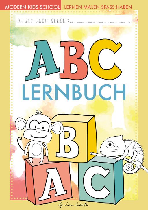 Lisa Wirth - ABC lernen - Malbuch