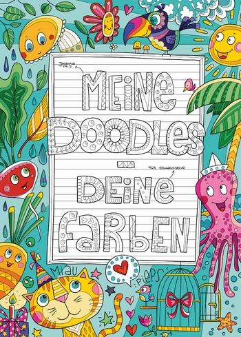 Fritz, Johanna - Meine Doodles - Deine Farben