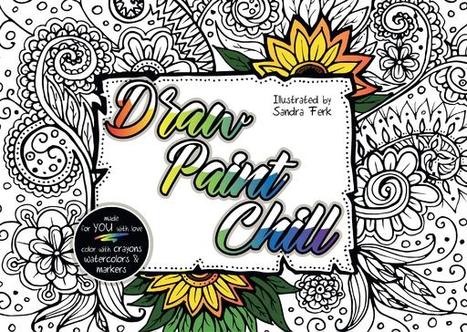 Ferk, Sandra - Draw Paint Chill