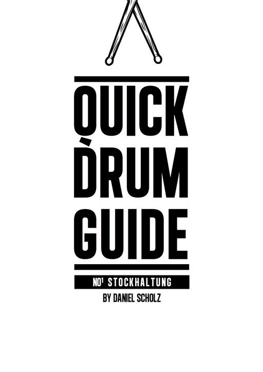Scholz, Daniel - Scholz, Daniel - Quick Drum Guide
