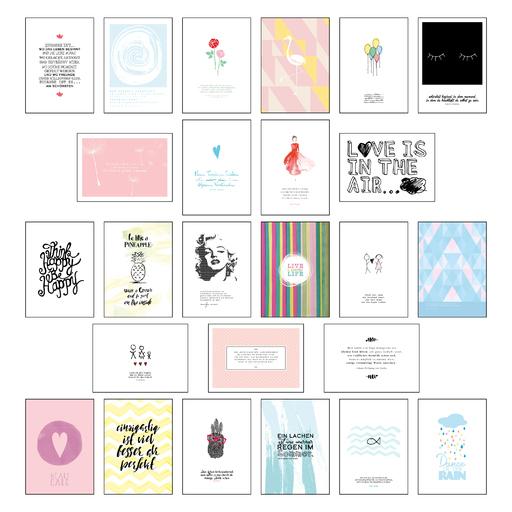 Lisa Wirth - Postkarten Sprüche 2