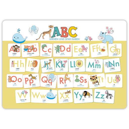 Lisa Wirth - ABC-Mini-Lernposter der Tiere (32,4 x 45