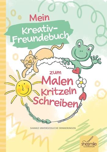 Steger, Elisabeth - Mein Kreativ-Freundebuch zum Malen, Krit