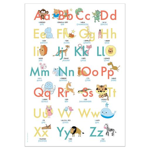 Lisa Wirth - ABC-Lernposter 70,7x100 cm 2. Auflage