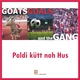 Goats, Goals And The Gang Poldi Kütt Noh hus